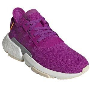 Adidas Pod System 3.1 vivid purple w/orange accent